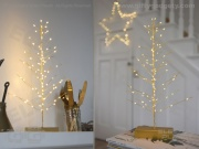 Gold Festive LED Tree