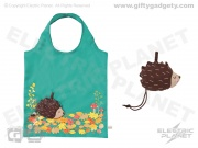 Foldable Shopping Bag - Hedgehog