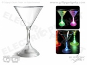 Light-Up LED Martini Cocktail Glass