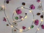 Handmade Metal Orchid Stringlights