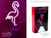 USB Flamingo Neon Light