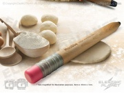 Rolling Pincil Rolling Pin