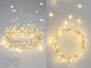 Silver Cluster Lights - Mains