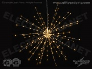 Starburst Hanging Light - Silver 50cm