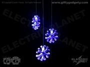 Snowflake LED Mobile