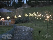 Solar Starburst Garden Light