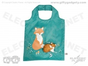 Foldable Shopping Bag - Fox