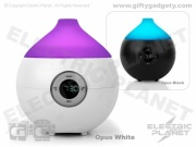 Opus Light-Up Aroma Diffuser & Alarm Clock
